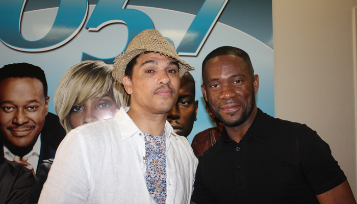 Chico DeBarge Gets Smooth With KRNB, DFW