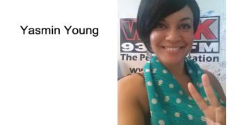 Yasmin Young On-Air @ 93.7 WBLK, Buffalo, NY
