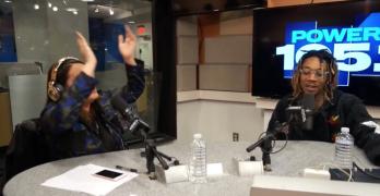 Listen To Angie Martinez & Wiz Khalifa On Power 105.1