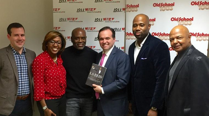 L.A. Reid Receives Key to City From Radio One Cincinnati
