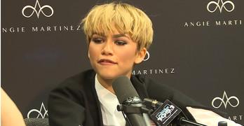 Zendaya Talks Grammys On-Air With Angie Martinez