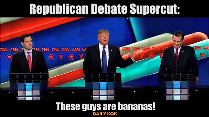SuperCuts: The GOP Debate In Case You Missed It
