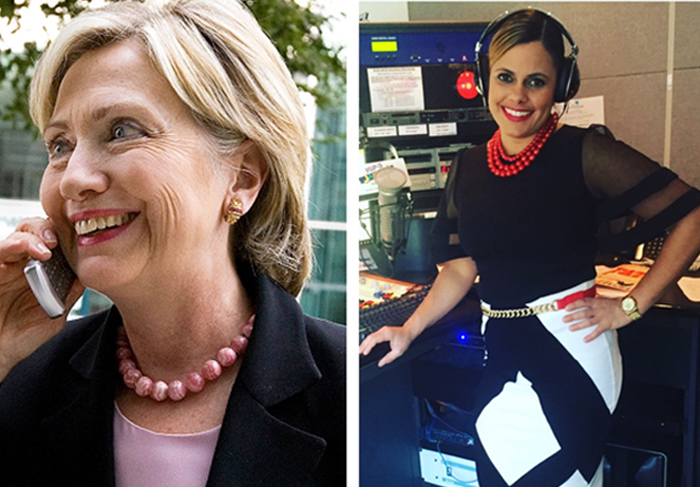 107.3 Jamz, Kelly Mac With Hillary Clinton Talking Issues