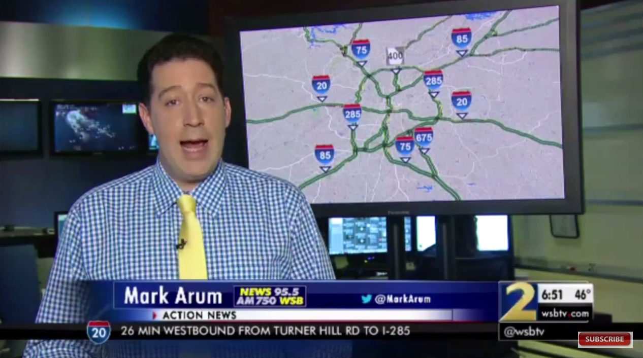 Atlanta Traffic Reporter Pays Tribute To Phife Dawg