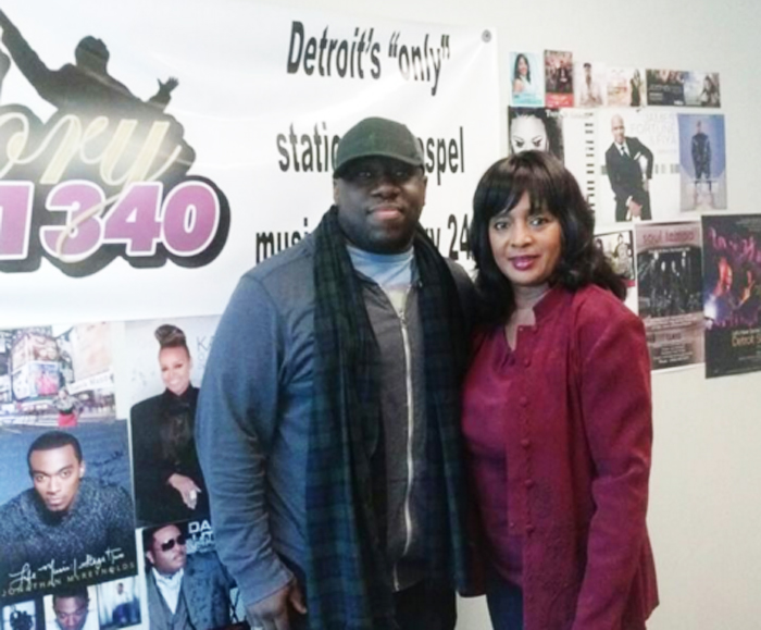 Val Monroe Of Glory 1340 Detroit Welcomes Gospel Artist Stephen Anderson