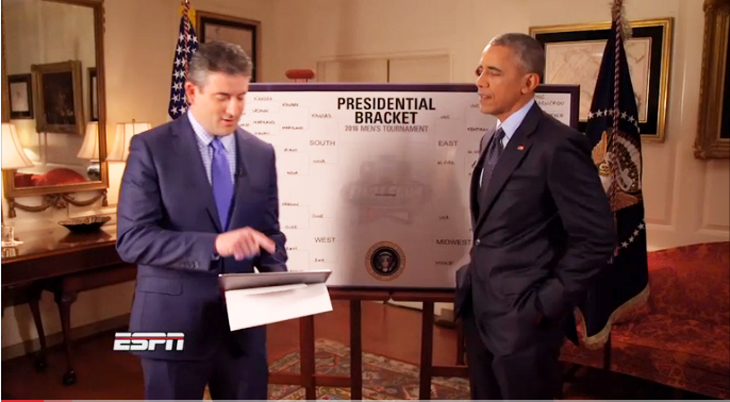 President Obama Makes March Madness Picks