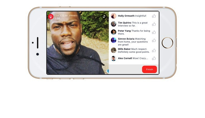 Facebook Live On Your Phone