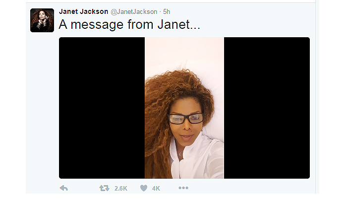 Janet Jackson Announces She