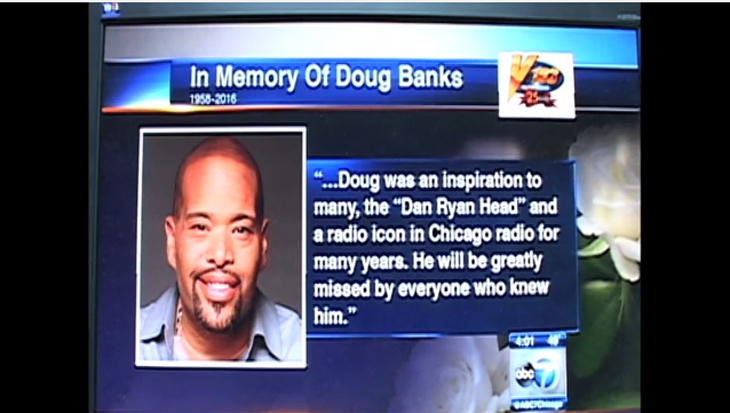 Doug Banks Tribute From ABC 7 Chicago