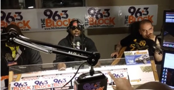 DJ Luke Nasty On-Air With JJ Solomon, 96.3 The Block