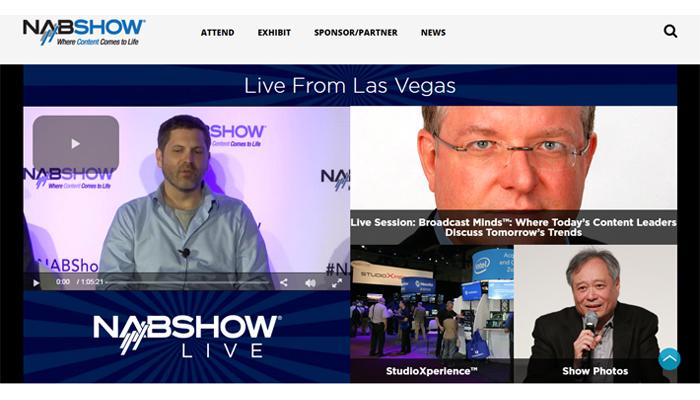 NAB Las Vegas Streaming Live