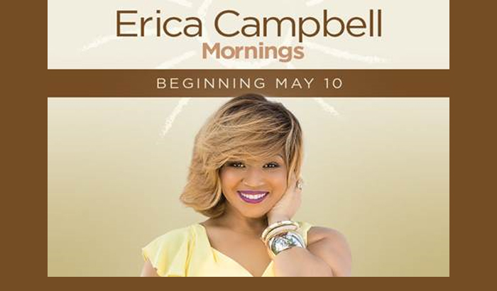 Erica Campbell To Replaces Yolanda Adams Syndicated Show