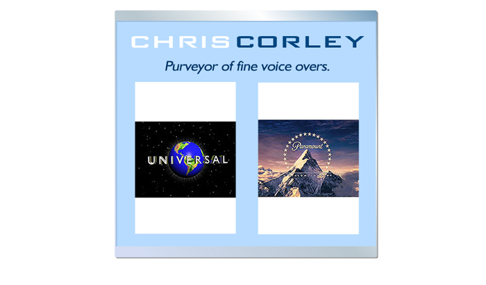 Chris Corley A Voice-Over Success Story