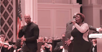 """Glory"" featuring Common, John Morris Russell With The Cincinnati Symphony"