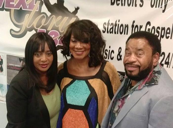 Val Monroe & Vistors @ Gospel 1340 WEXL Detroit