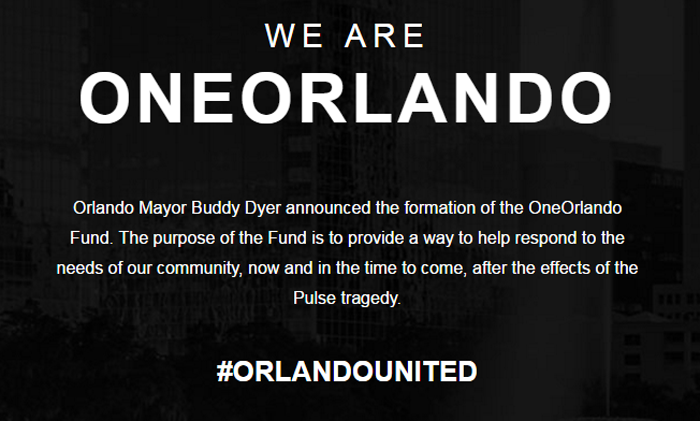 OneOrlando Fund, Tweet It, Share It, And Post It