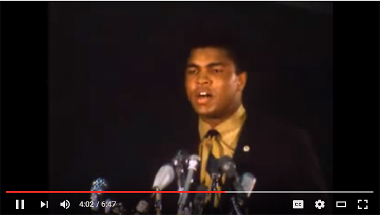 NBC News - Muhammad Ali On Not Going To War