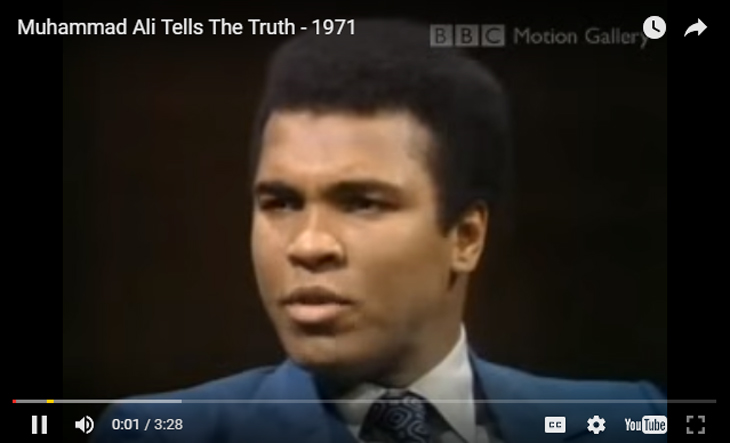 Muhammad Ali Tells The Truth - 1971