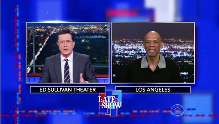 Muhammad Ali Tribute: Kareem Abdul Jabbar & Stephen Colbert