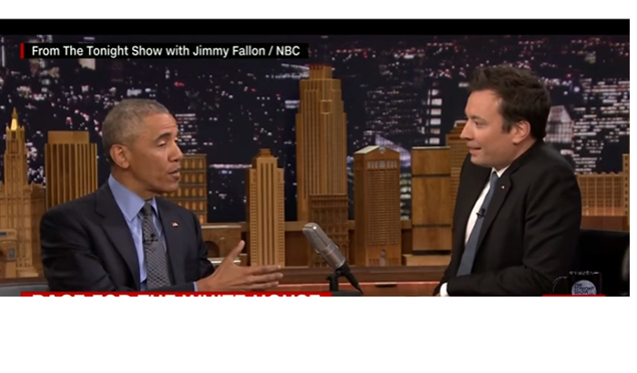 President Obama Talks Politics With Jimmy Fallon