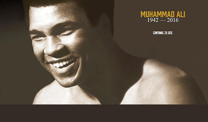Muhammad Ali Website & History