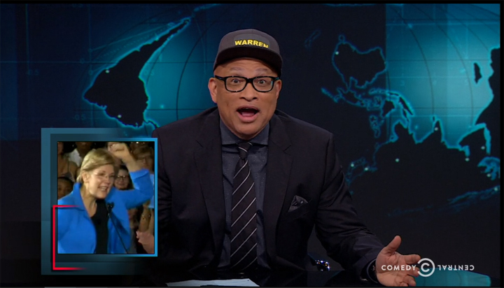 Larry Wilmore Takes Shot At Fox News
