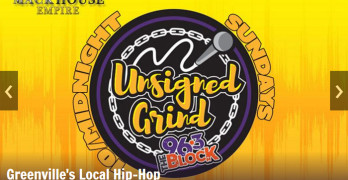 96.3 The Block Greenville, SC Stopped The Music & Talked