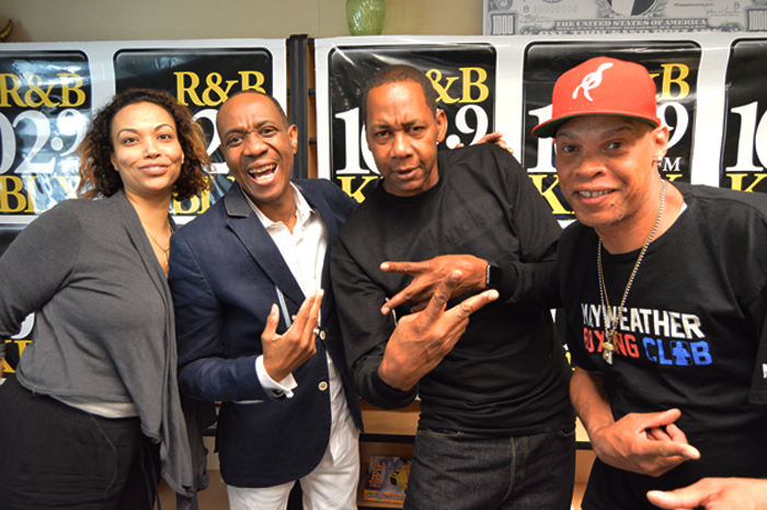 KBLX San Francisco Morning Dream Team w/ Freddie Jackson