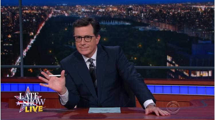 Watch: Stephen Colbert