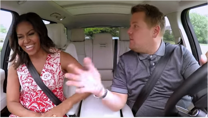 Watch Michelle Obama Karaoke Carpool