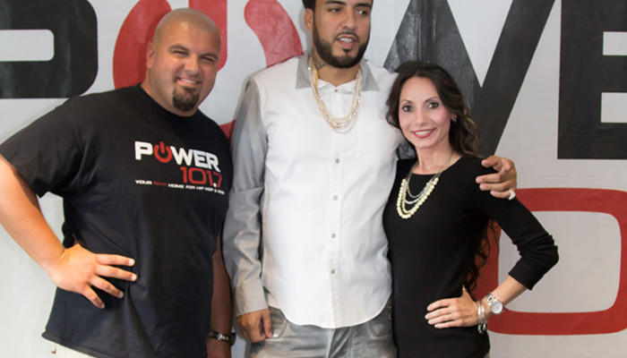 French Montana Visits Power 105.7