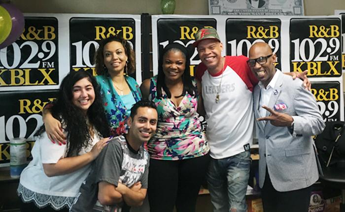Mo'nique Visits The KBLX Dream Team Morning Show
