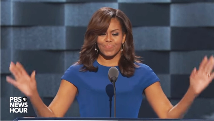 "Michelle Obama ""America Is Already Great"""