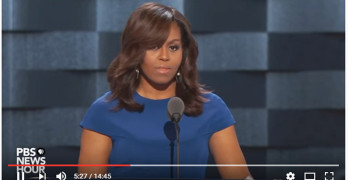 Michelle Obama Wrote Trump Out of the America Narrative