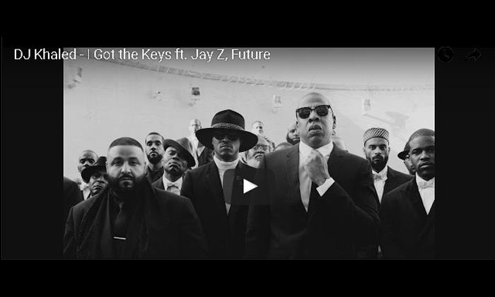 "DJ Khaled ""I Got The Keys"" Video"