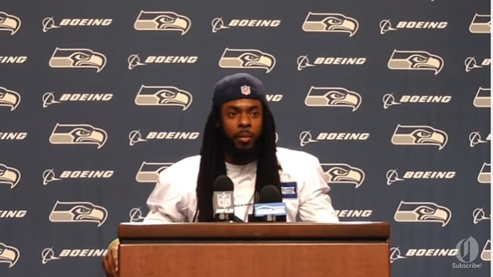 Richard Sherman Takes A Stand Against Police Shootings