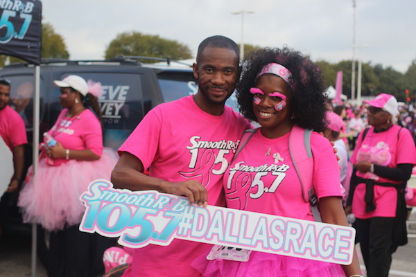 Dallas' Smooth 105.7's 1st Lady of Middays KJ Goes Pink