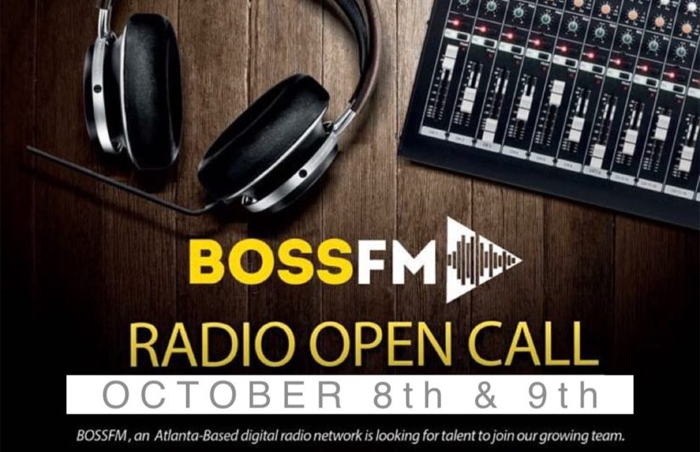 "BossFM ""Radio Open Talent Call"""