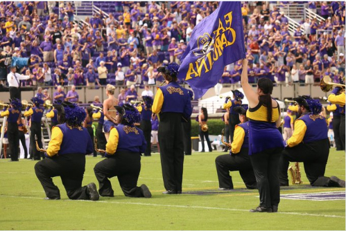 "ECU Band Members Protest, Local Radio (WFAY) Will ""Protest the Protester"""