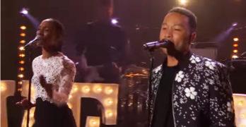 "Live: John Legend ""Love Me Now"""