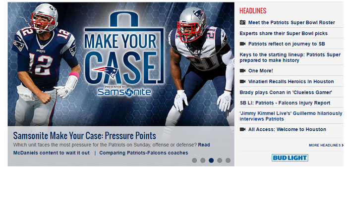 New England Patriots Information