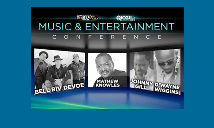 102.9 KBLX & Q102.1 Present the 2017  Music & Entertainment Conference