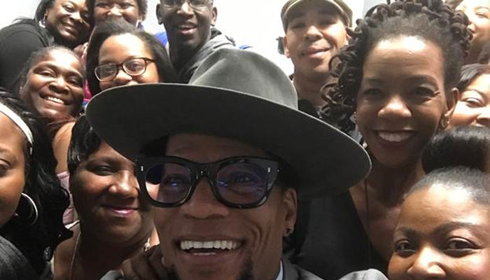D.L. Hughley Hangin' With Listeners In South Carolina