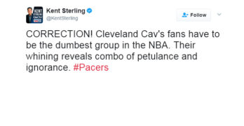 Tweeting is Powerful, Ask Cavs Fans