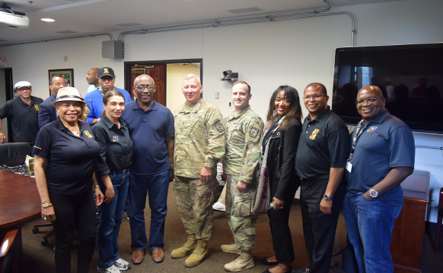 NABOB Delegation Meets U.S. Army Cadet Command