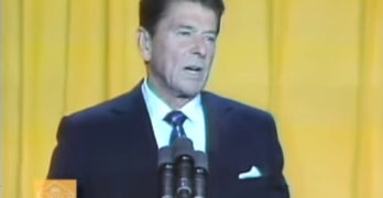 Ronald Reagan Talks Race @ The '81 NAACP Convention