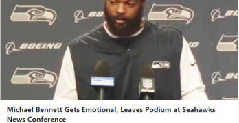Blow His F-ing Head Off, Now Michael Bennett, Who's Next