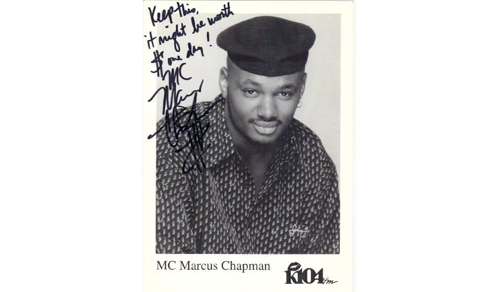 """On-Air Personality MC Marcus Chapman Presents """"The MC 25"""" Countdown"""