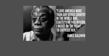 "History: James Baldwin ""It Comes At A Great Shock"""