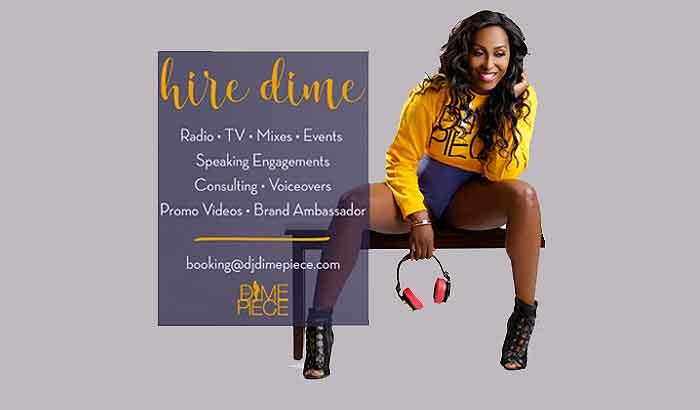 "Available: DJ Dimepiece ""The Mixin"